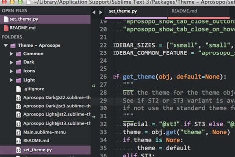 sublime text 3 select theme 35 cool sublime text themes designbeep