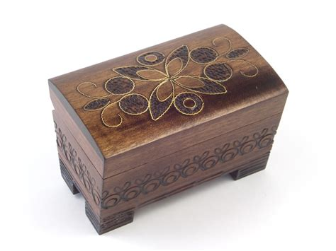 Handmade Wood Jewelry Box - handmade wooden jewelry boxes