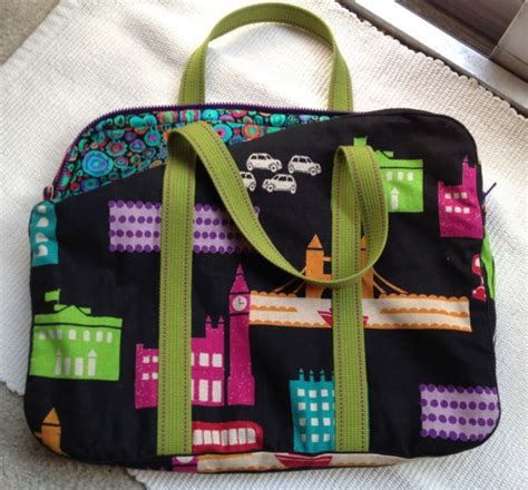 sewing pattern laptop bag echino laptop bag by coatailrdr project sewing bags
