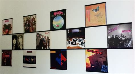 How To View Records Displaying Vinyl Records Records On Walls