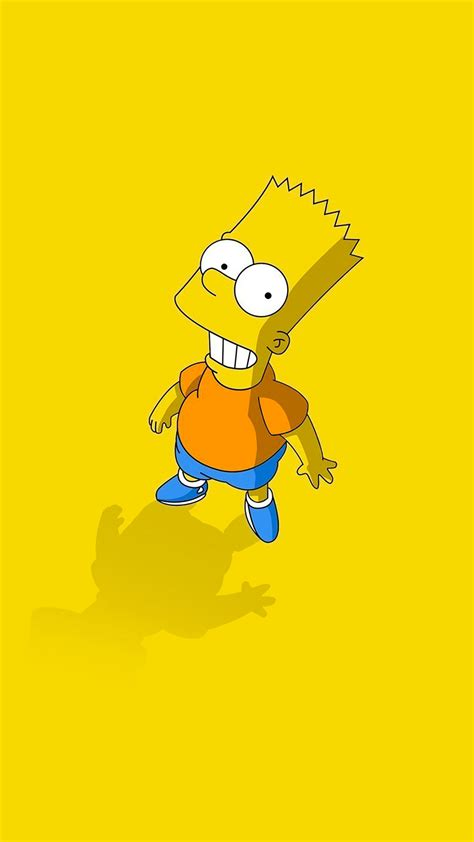 wallpaper iphone 6 simpsons simpsons bart wallpaper for iphone x 8 7 6 free