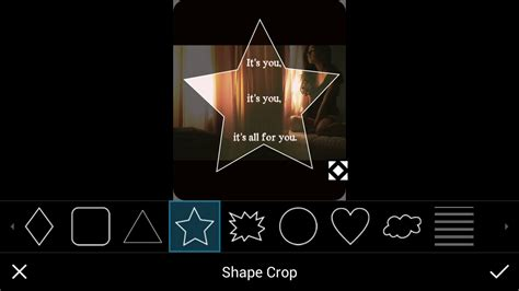 picsart tutorial crop 6 step tutorial on how to use shape crop create