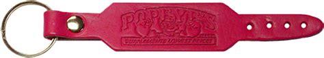 supplement keychain popeye s gear leather weightbelt keychain pink www