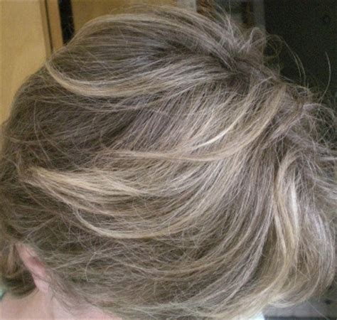 hoghtlighting hair with gray highlight grey hair google search style inspirations