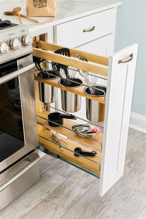 Storage Solutions For Your Kitchen Makeover Utensils Kitchen Cabinet Storage Solutions