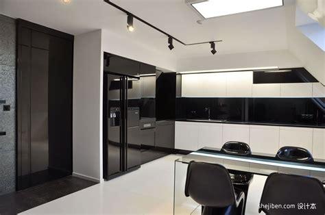 Black N White House Interior Design by