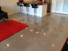 how to stain existing concrete