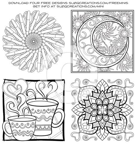 printable coloring book minimentals digital edition pdf coloring book suziq