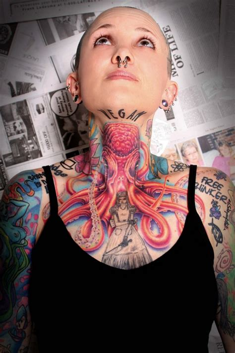 full neck tattoo designs neck images designs