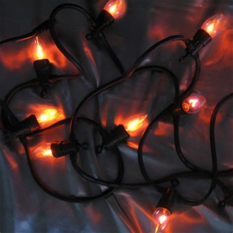 flickering string lights 10 flicker bulb stringlights