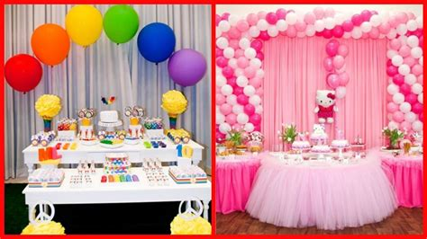 decorate pictures beautiful birthday decoration ideas awesome youtube