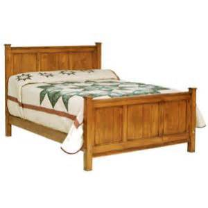 amish heritage shaker panel bed size headboard only