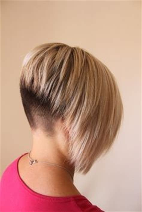 my husband has a bobbed hairstyle shaved nape haircuts for my wife pinterest shaved