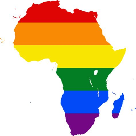 africa map png file lgbt flag map of africa png wikimedia commons