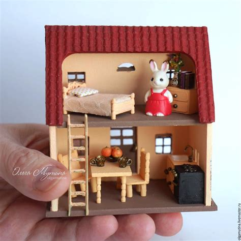 sylvanian families dolls house the house of marie in miniature sylvanian families shop online on livemaster