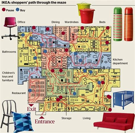 Restaurant Floor Plan Generator by Ikea Design Stores As Mazes To Stop Shoppers Leaving So