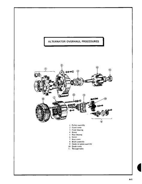 generator stator wiring diagram wind