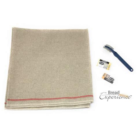 couche cloth 3 piece proofing cloth lame set 26 inch couche bread