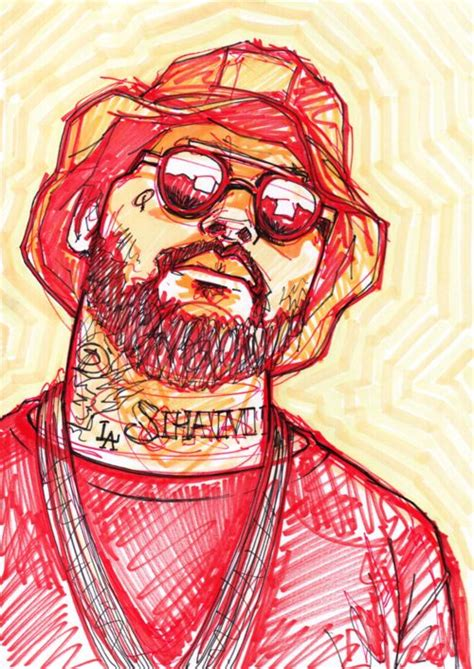 Schoolboy Q Drawing by Schoolboy Q Will Prince 169 New Hip Hop Beats Uploaded