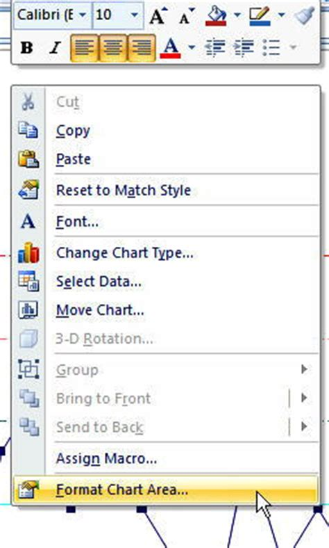 excel 2007 vba format chart area formatting charts in excel change chart style