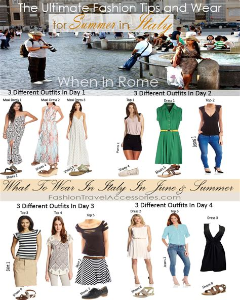 what to wear in italy in june july august summer