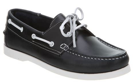 boat shoes office office yachting boat shoe all navy blue leather in blue