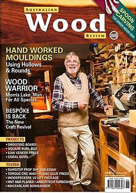 australian woodworker magazine to the world of pyrography woodburning