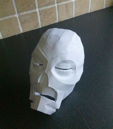 papercraft priest mask by phoenixdestruction on