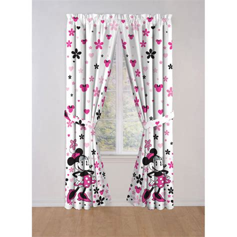 minnie mouse bedroom curtains minnie mouse curtains furniture ideas deltaangelgroup