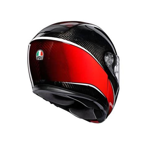 agv sportmodular aero carbon red helmet champion helmets
