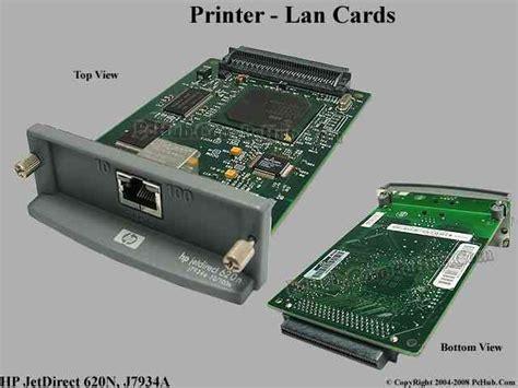 resetting hp jetdirect card hp jetdirect 620n z printer lan cards j7934a