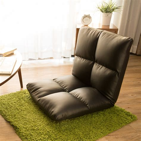 Floor Level Seating Furniture by Floor Seating Chair Leather Brown Foldable Floor Seating