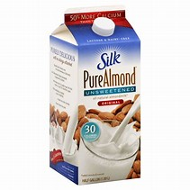 Image result for free pics of almond milk
