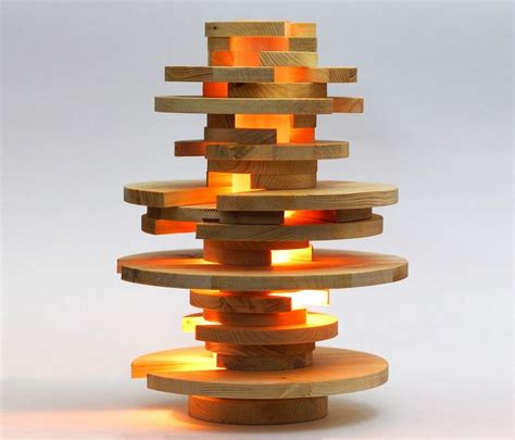stacked lamp  instructables  creative feeling
