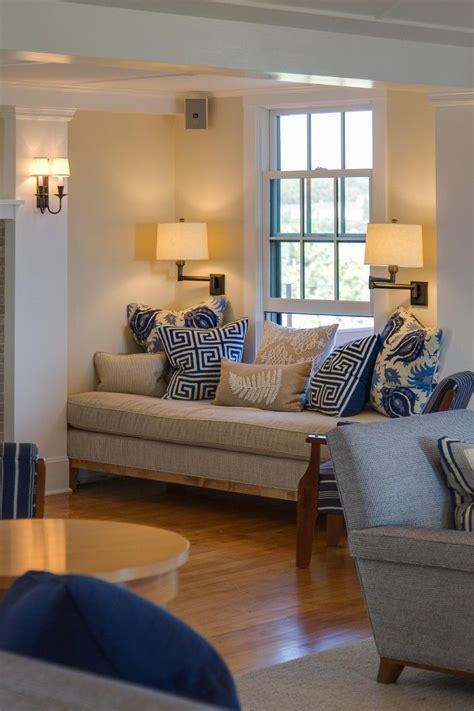 designs for living rooms in navy and beige relaxing comfy living room beige fabrics linens blue navy accent