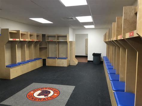 hockey lockers playerstall wood hockey lockers