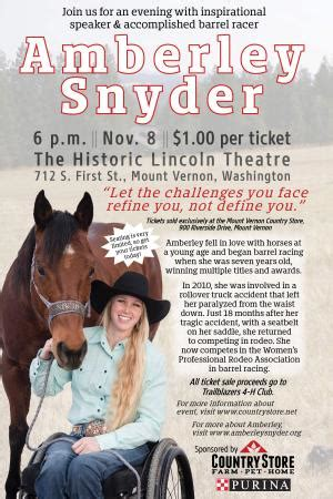 amberley snyder lincoln theatre
