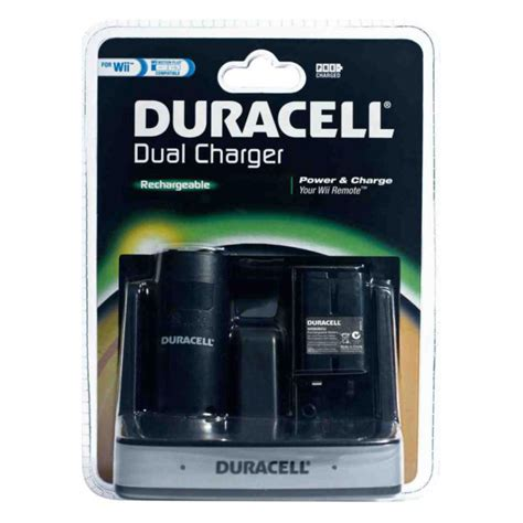 wii battery charger duracell dual charger wii accessoires wii duracell sur