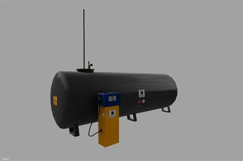Gas Ls placeable gas station v1 ls 17 farming simulator 17 mod