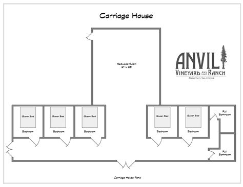 carriage house plans ranch home plans floor plans anvil vineyard and ranch