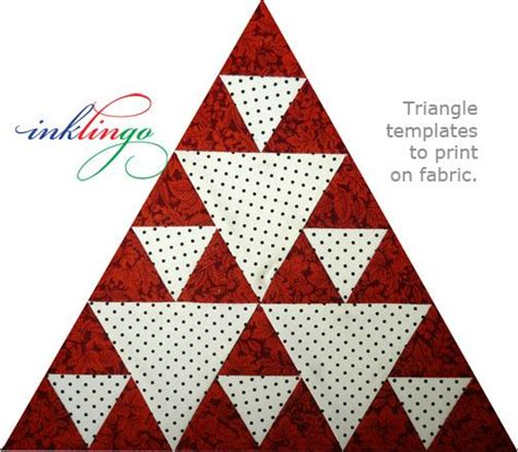 pattern for equilateral triangle 1000 images about pyramid quilt pattern and variations on