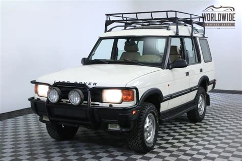 vintage land rover discovery 1996 land rover discovery se7 2 owner worldwide