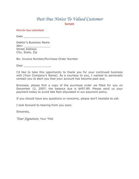 Past Due Invoice Letter Exle past due invoice letter invoice template ideas