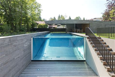 Gorgeous Homes Interior Design see through swimming pools reveal a world full of surprises