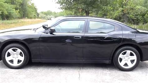 2009 dodge charger police package specs