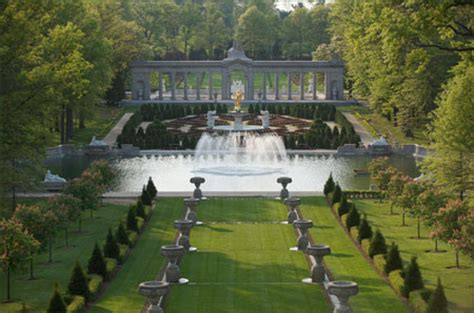 Nemours Gardens by Gardens Nemours Mansion