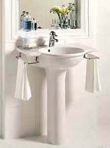 Storage Ideas For Bathrooms With Pedestal Sinks by 1000 Images About Pedestal Sink Storage Ideas On