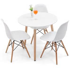 2 Seat Dining Table Sets Konrad Dsw 3 Seater Dining Set White White Finish