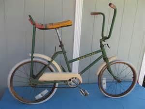 boys banana seat bike vintage boys bicycle w banana seat high bars 1970s
