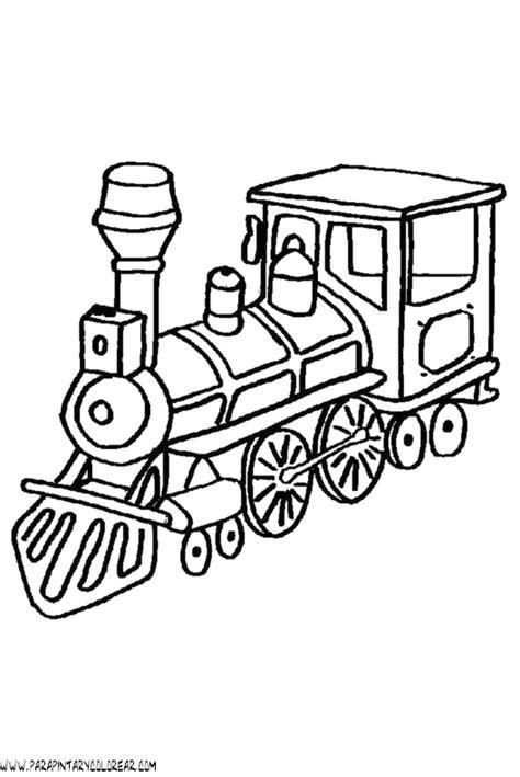 imagenes infantiles para colorear de trenes dibujos para colorear de trenes 020